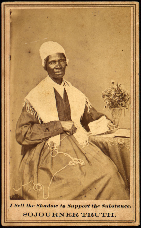 Carte De Visite Sojourner Truth