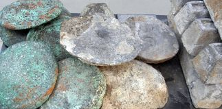 how to make ore into ingots in skyrim
